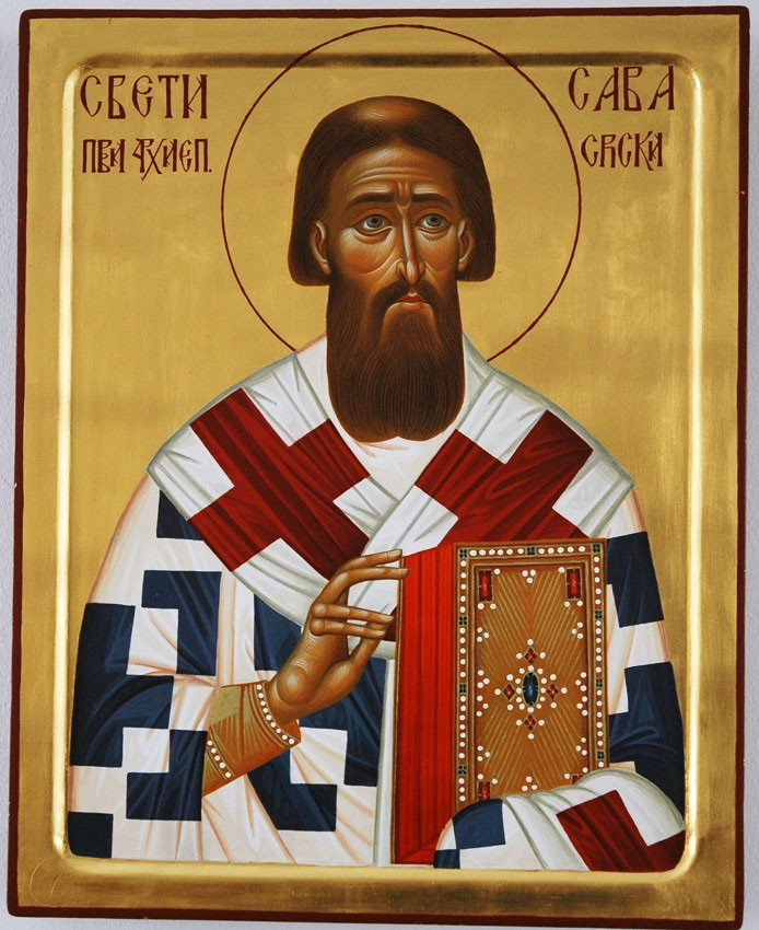 Holy Hierarch Savva, Archbishop of Serbia