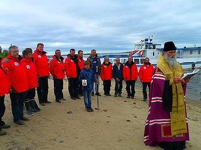 Епископ Иаков благословил Морскую арктическую экспедицию