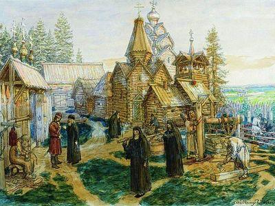 «Троичный ученикъ»: преподобный Сергий Радонежский и устроение Руси как обители Пресвятой Троицы