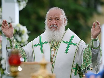 "Patriarch Kirill: ""We are praying for the Ukraine. This is a great sorrow for us"""