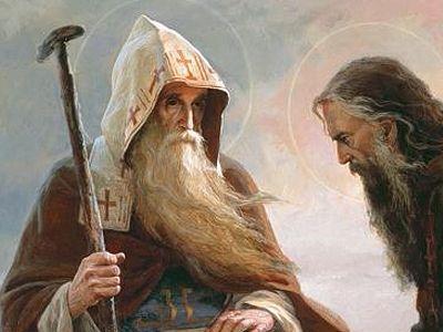 Преподобный Антоний Печерский и древнерусский Афон