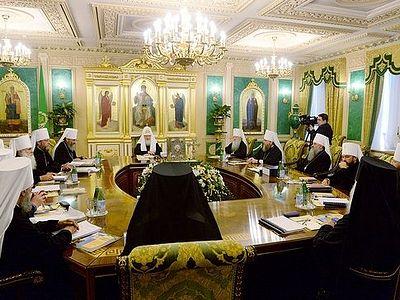 Журналы заседания Священного Синода от 25 июля 2014 года
