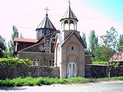 Center of Horlivka Shelled, People Killed and a Church Damaged