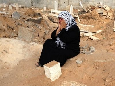 In Gaza, even the dead get no peace