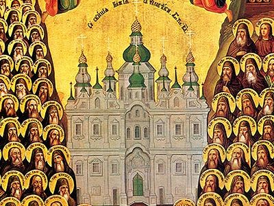 Venerable John the Long-Suffering of the Kiev Near Caves