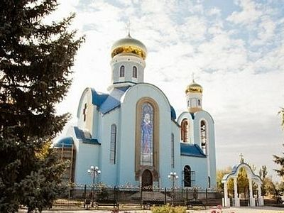 Church in central Lugansk damaged from shelling (+Video)