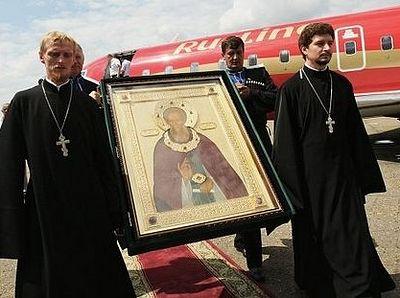 В Калининград доставлена икона прп. Сергия Радонежского