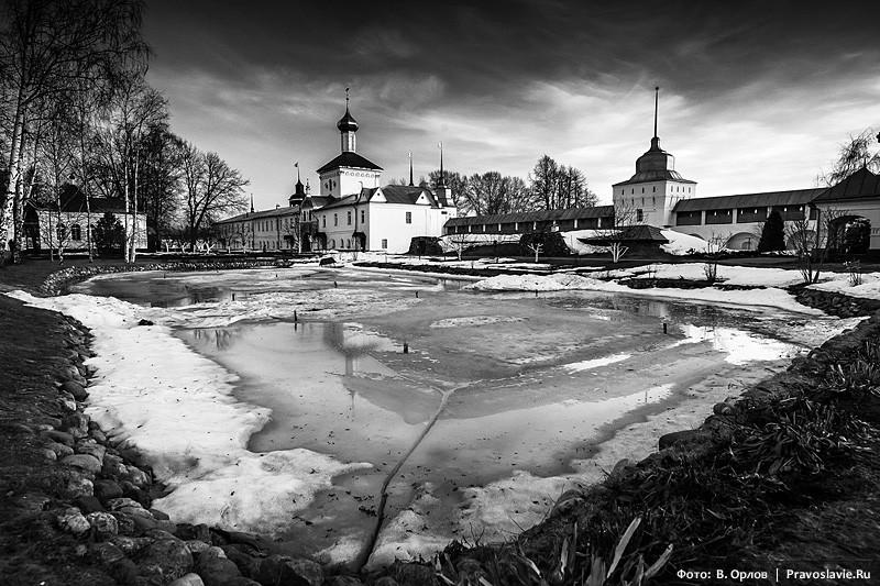 Толгский монастырь зимой