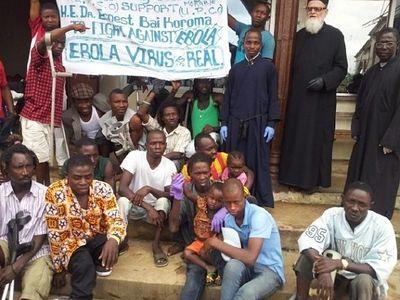 Архимандрит Фемистокл (Адамопулос): Я нахожусь в самом очаге вспышки лихорадки Эбола