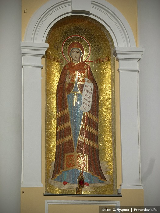 Пресвятая Богородица — дивеевская Игумения