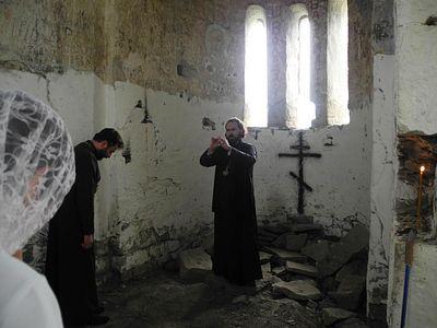 Паломничество к великой святыне Кавказа совершил архиепископ Пятигорский и Черкесский Феофилакт