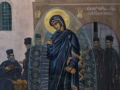 На Афоне почтили память чудесного явления светописанного образа Пресвятой Богородицы