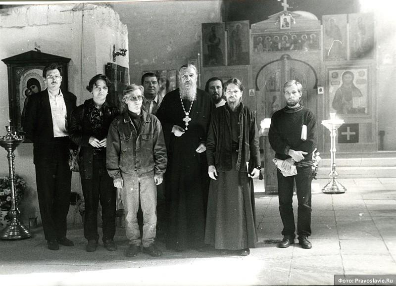 С архимандритом Антонием (Гулиашвили)