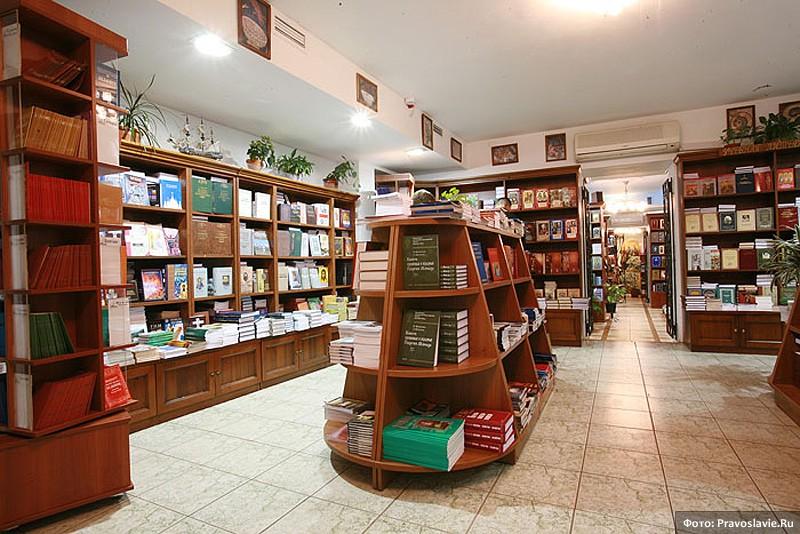 Интерьер магазина «Сретение»