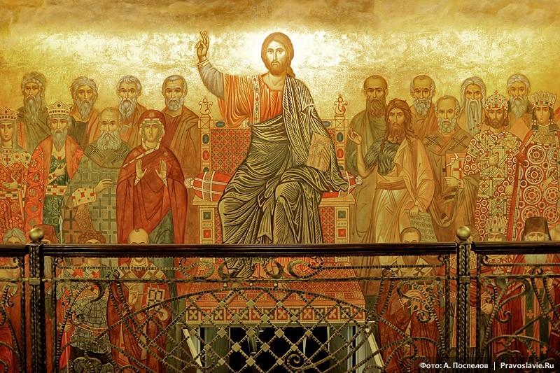 Роспись первого этажа семинарии