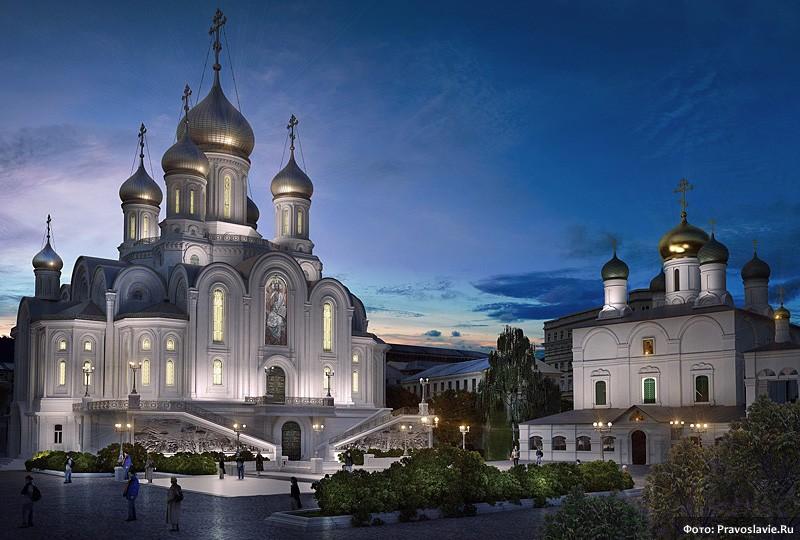 Проект храма Новомучеников