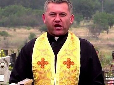 Униатский священник призывает к убийствам