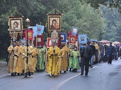 Елизаветинский Крестный ход завершился в Подмосковье