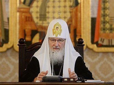 Святейший Патриарх Кирилл: Миссионерская деятельность должна быть приоритетной темой в повестке дня Русской Православной Церкви
