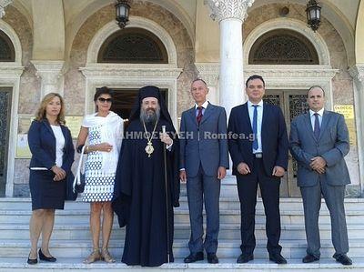 Посол России в Греции помолился у креста святого апостола Андрея Первозванного