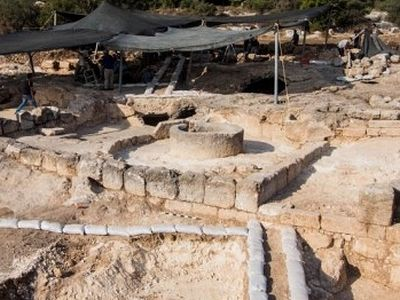 Byzantine Monastery discovered in Israel