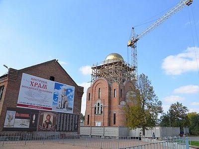Храм Новомучеников и исповедников Российских возводится в Беслане