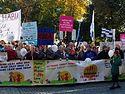 Митинг в защиту семейных ценностей прошел в Таллине