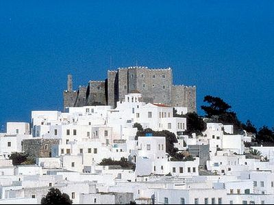Chora on Patmos: Unesco World Heritage Site