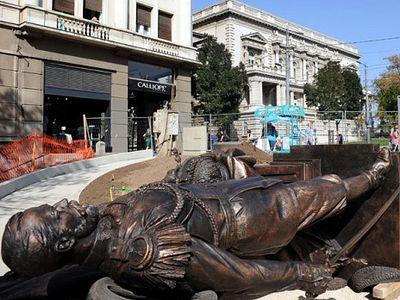 Памятник императору Николаю II доставлен в Белград