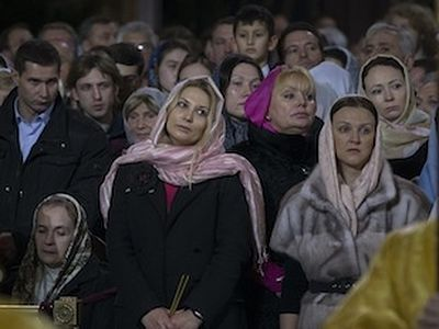 Russia has experienced a spiritual resurrection