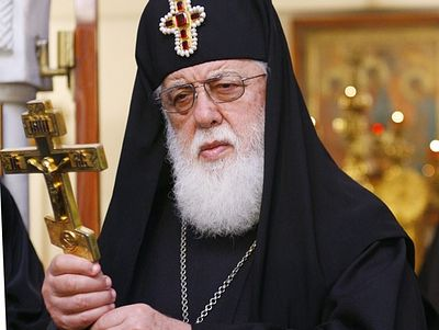 "Patriarch Ilia II: ""I am praying for Russia"""