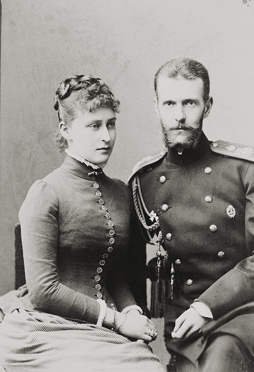 1884 г. Великий князь Сергий Александрович и Великая княгиня Елизавета Феодоровна