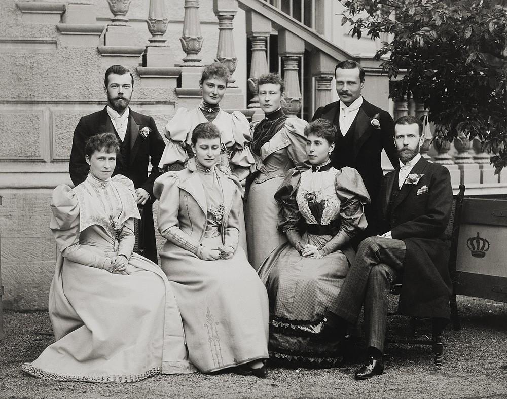 1894 г. На брачной церемонии Эрнста Людвига, Великого герцога Гессенского