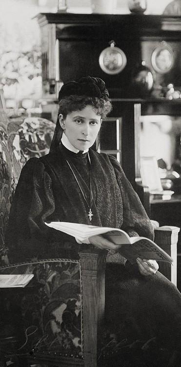 1906 г. Великая княгиня Елизавета Феодоровна после смерти мужа