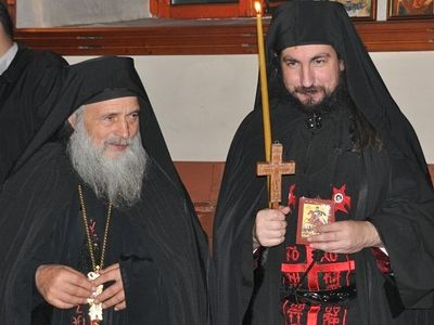Opponent of ecumenism Hieromonk Vissarion of Zograf Monastery takes the great schema