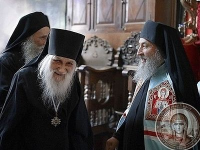 Metropolitan Onufry of Kiev visited Mt. Athos the day before his 70th birthday (+Photo)