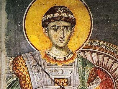 The Holy Great Martyr Demetrios of Thessaloniki