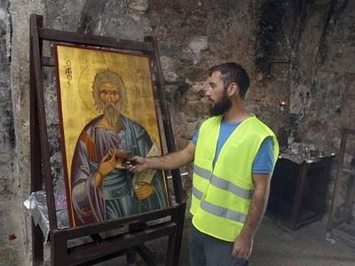 Cypriot foes unite to save ancient religious site