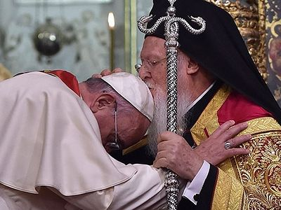 Ecumenical Patriarch Bartholomew and Pope Francis Sign Joint Declaration