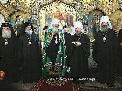 В Софии прошли торжества в честь 100-летия храма русского подворья