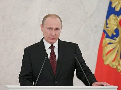 Vladimir Putin: Whoever loves Russia should desire freedom for it