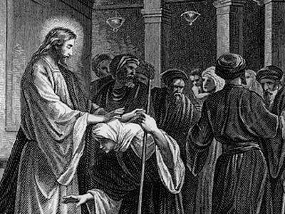On Luke 13:10-17. Christ Still Loves Sinners