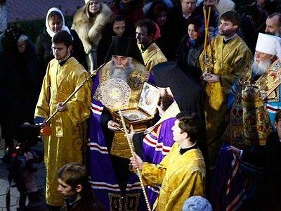 В Одессу из Александро-Невской Лавры прибыла частица мощей святого князя