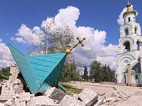 62 Orthodox churches damaged in Donetsk region in the military operations