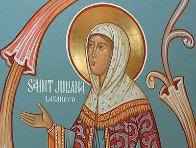 Righteous Juliana of Lazarevo, Murom