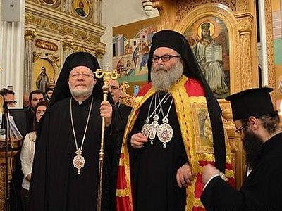 Патриарх Иоанн Х возвел в сан митр. Нью-Йоркского и Североамериканского Иосифа