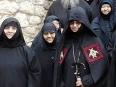 The Enthronement of Abbess Chrysovalanti in St. Patapios Nunnery