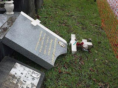 Родственники потрясены осквернением могил на русском кладбище в Сиднее