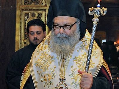 Syrian patriarch: To help Christians, stop flow of weapons