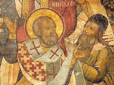 "The ""Model of Meekness"", and Slapping Arius"